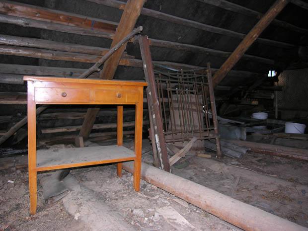 Мебель на чердаке