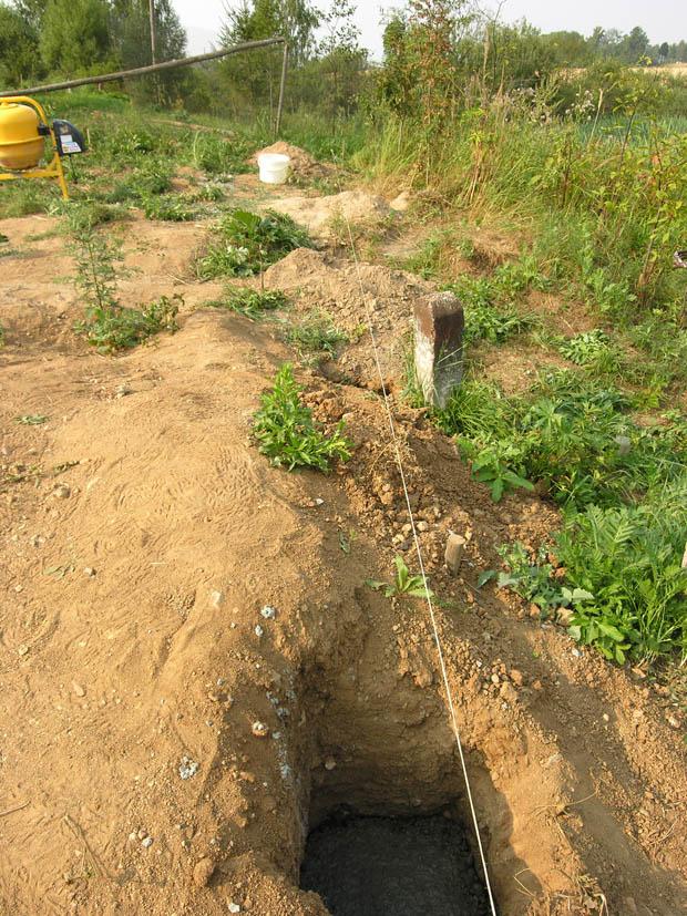 Как сделать яму для фундамента 798