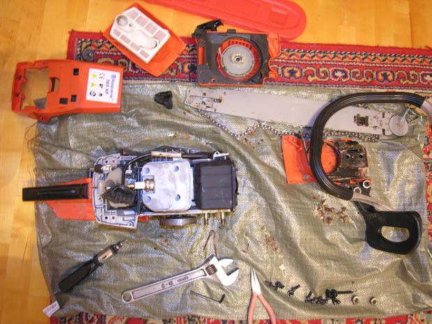 Бензотриммер хускварна ремонт своими руками фото 834