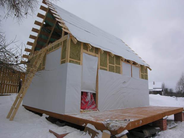 Изоспан АМ на крыше