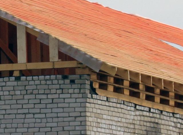 Обрешетник на крыше