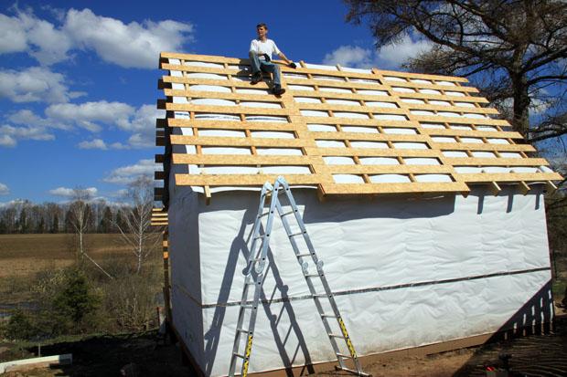 Обрешетник крыши