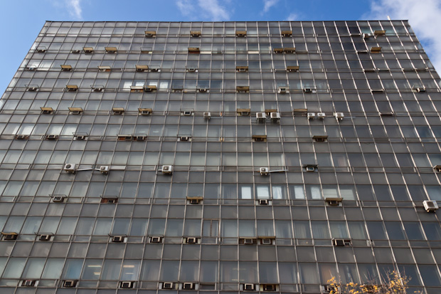 здание времён СССР