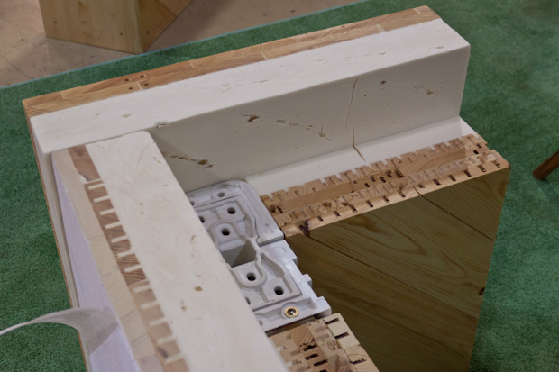 Ещё один пирог из инженерной древесины и пенополистирола