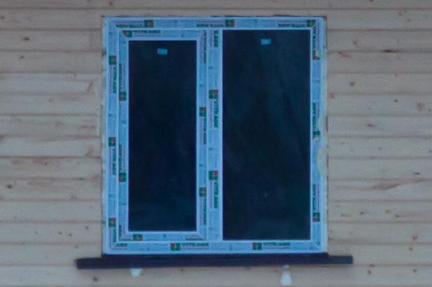 пластиковые окна в дачном домике