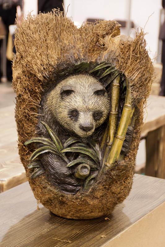 деревянный мишка