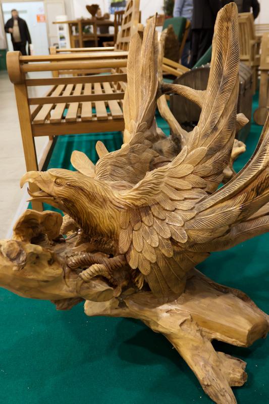 деревянный орёл