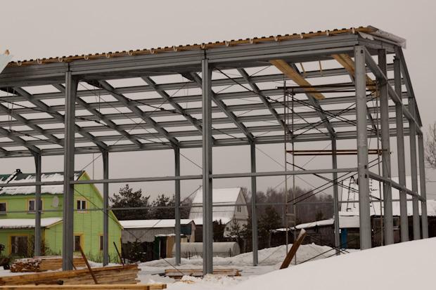 строительство нового склада