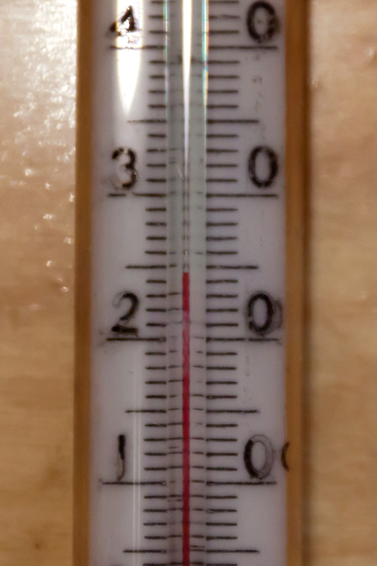24,5 градуса на полу
