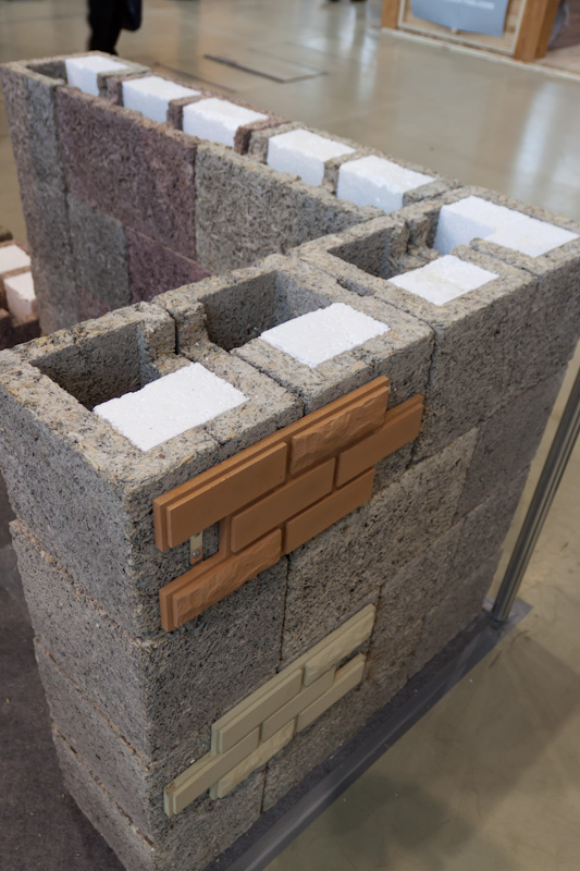Блоки из цемента, опилок и пенопласта