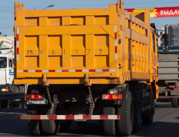 китайский грузовик
