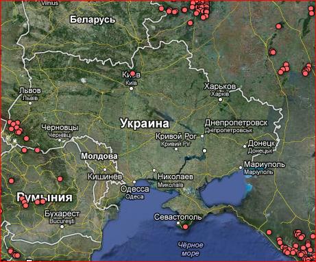 вырубка леса на Украине