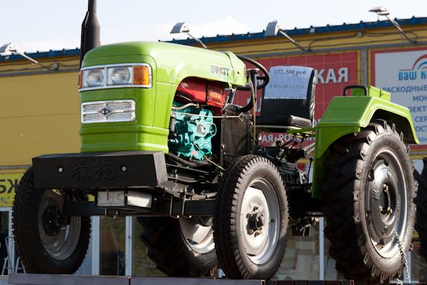 китайский трактор