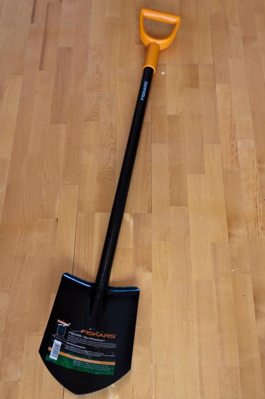лопатка от компании Fiskars