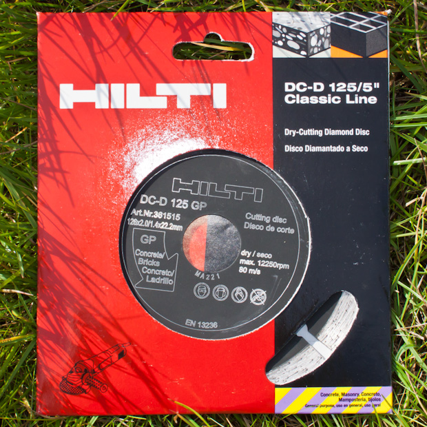 алмазный диск от Hilti