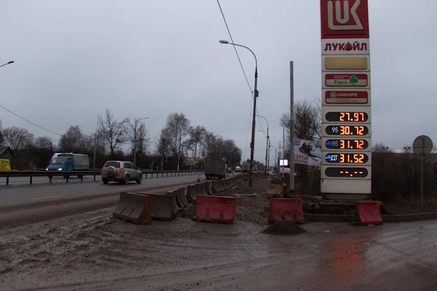Расширение трассы вдоль Кирилловки