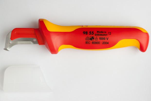 KN-9855, нож для снятия изоляции