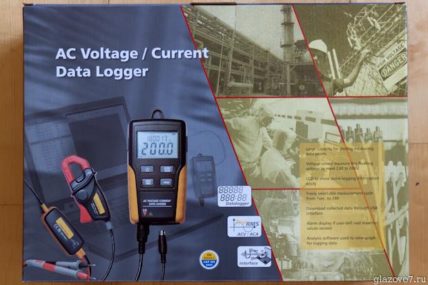 Регистратор тока и напряжения