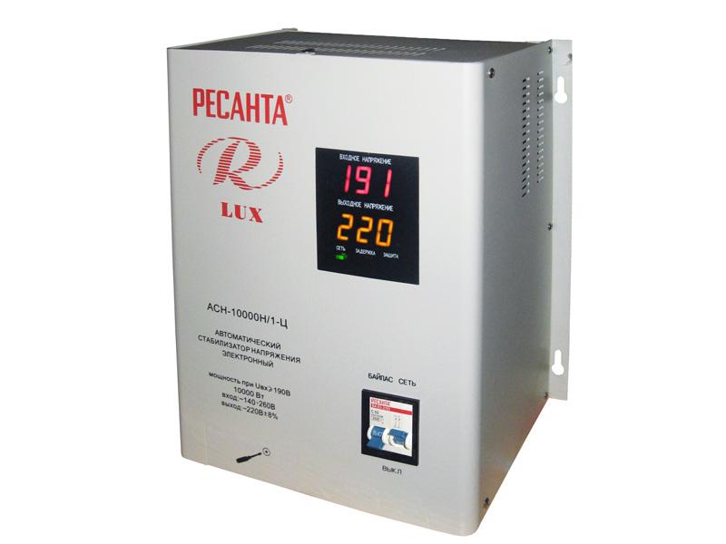 Стабилизатор напряжения Ресанта ACH-10000Н/1-Ц