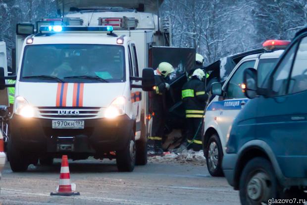 Авария в Пешках