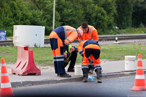 ремонт тротуарного борта