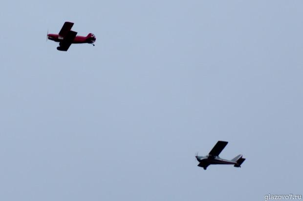 два лёгких самолёта