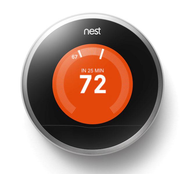 Термостат и датчика дыма Nest
