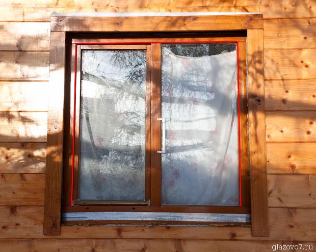 установка наличников на окна