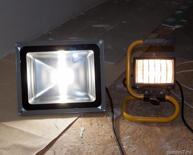 прожектора для штукатурки