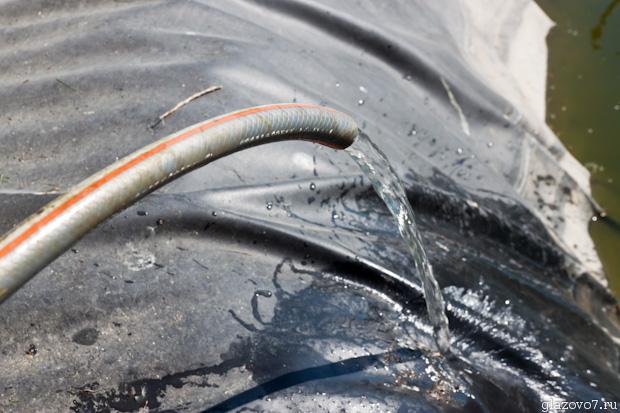 упало давление водопровода
