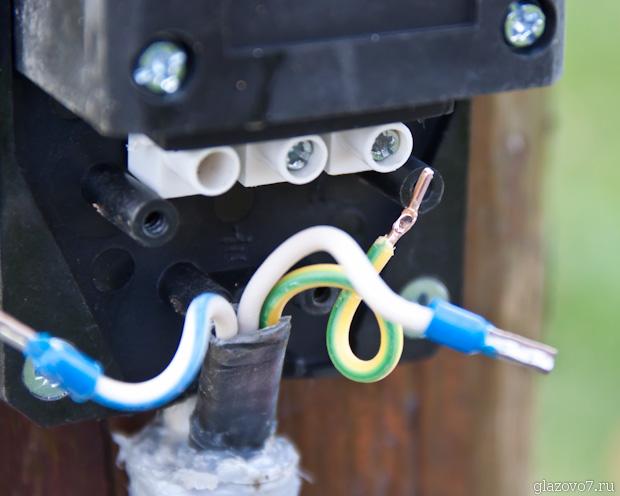 опрессовка провода наконечниками