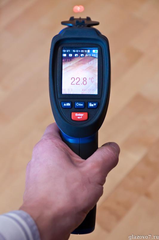 высокотемпературный пирометр со встроенной камерой CEM DT-9862