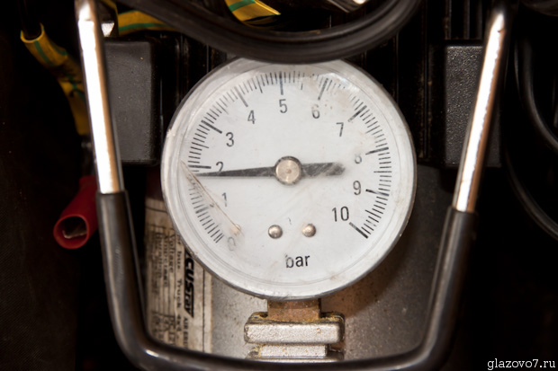 давление воздуха в гидроаккумуляторе