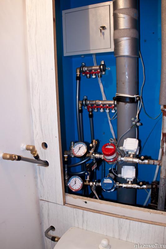 конфигурация водораспределительного узла