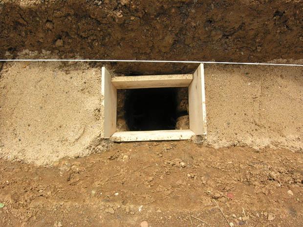Опалубка под бетонирование столбов