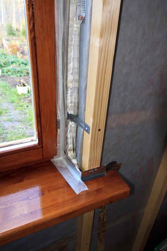 Откосы для деревянных окон