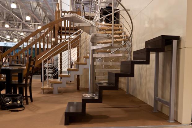Лестница без промежуточных опор