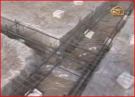 ленточно-плитный фундамент