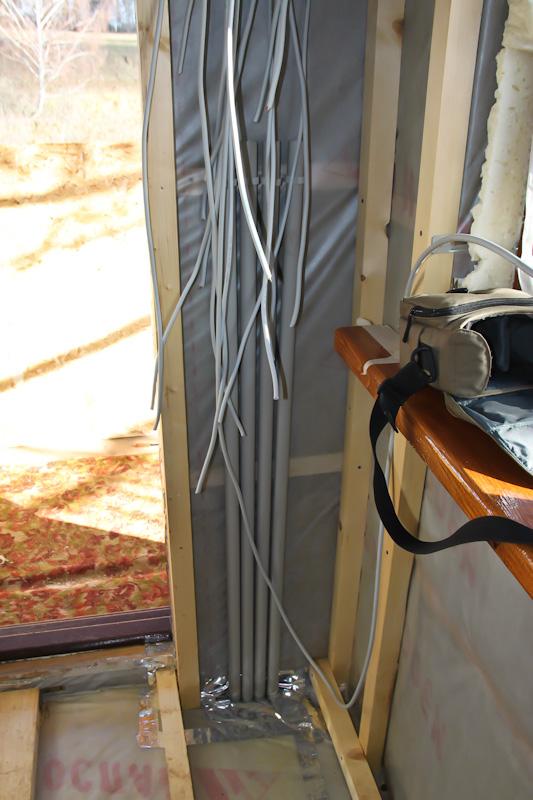 Подвод электрики в дом