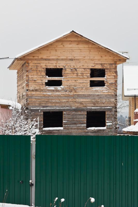 дом из бруса в Савельево
