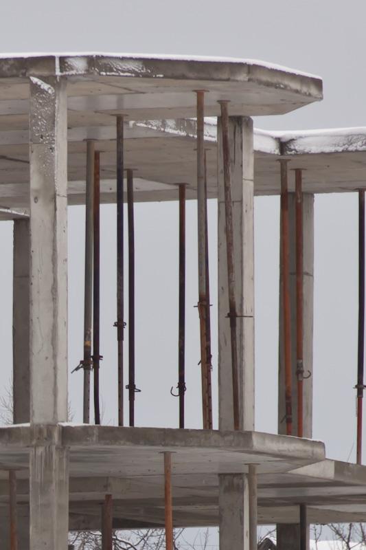 монолитно-бетонный несущий каркас