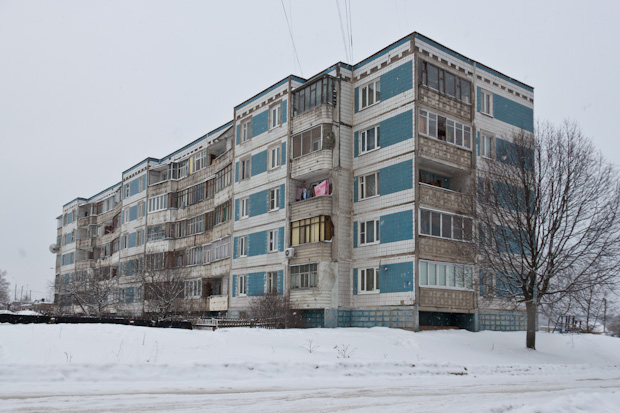 пятиэтажка в Чашниково