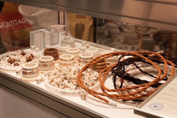 Элементы декора проводки под старину