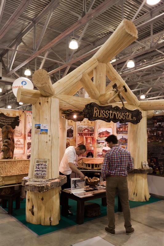 russtroystil.ru на выставке деревянный дом 2012
