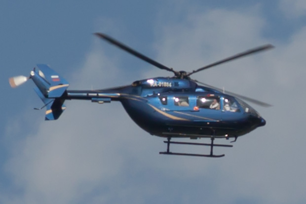 Вертолёт RA-01834 Eurocopter EC145