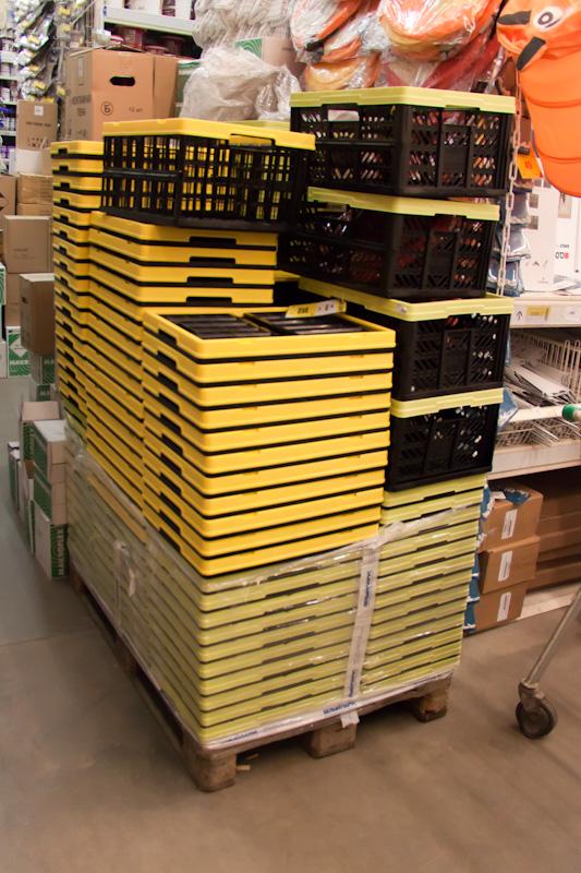 пластиковые ящики в Леруа-Мерлин