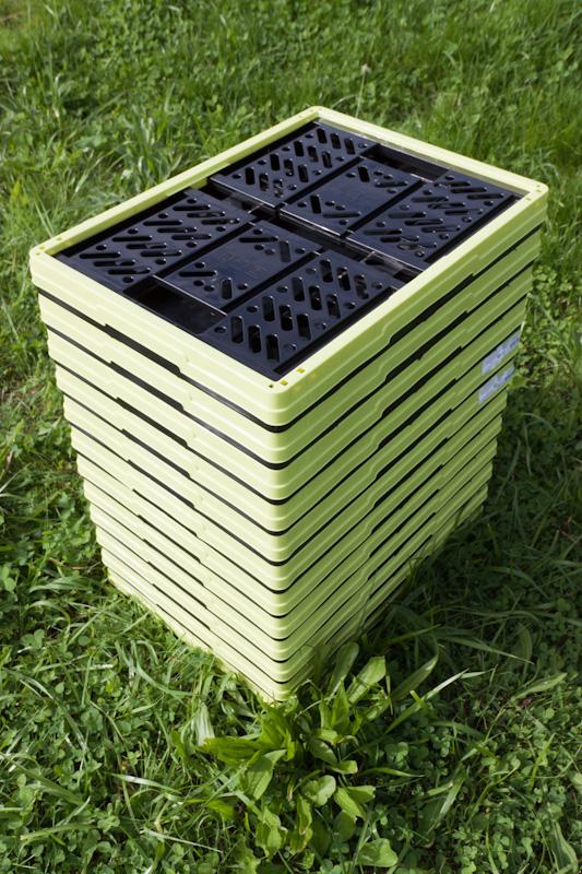 складные пластиковые ящики