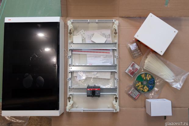 ABB Unibox 36 модулей