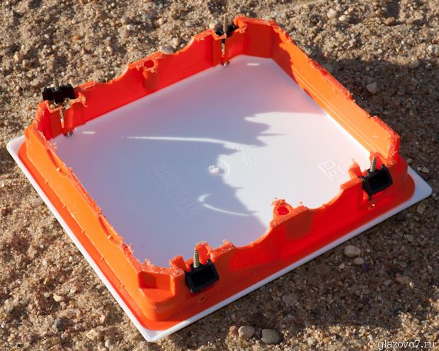 распределительная коробочка для электромонтажа в гипсоркартоне