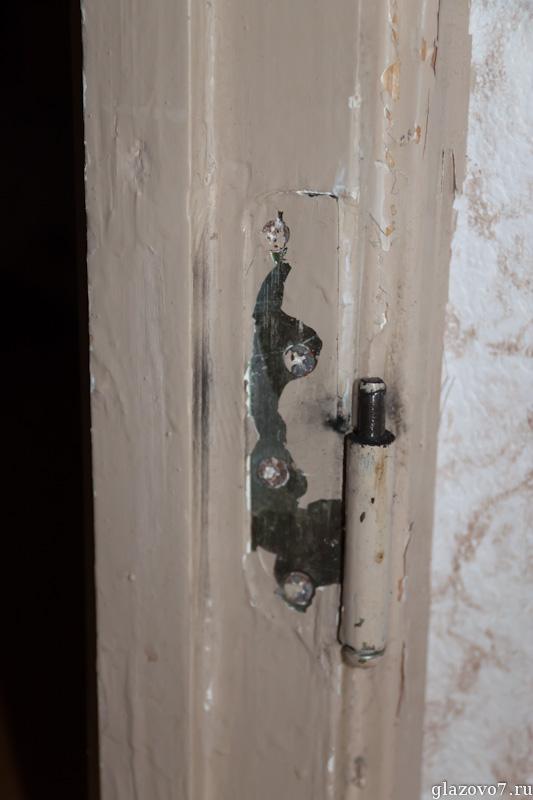 старая дверная петля